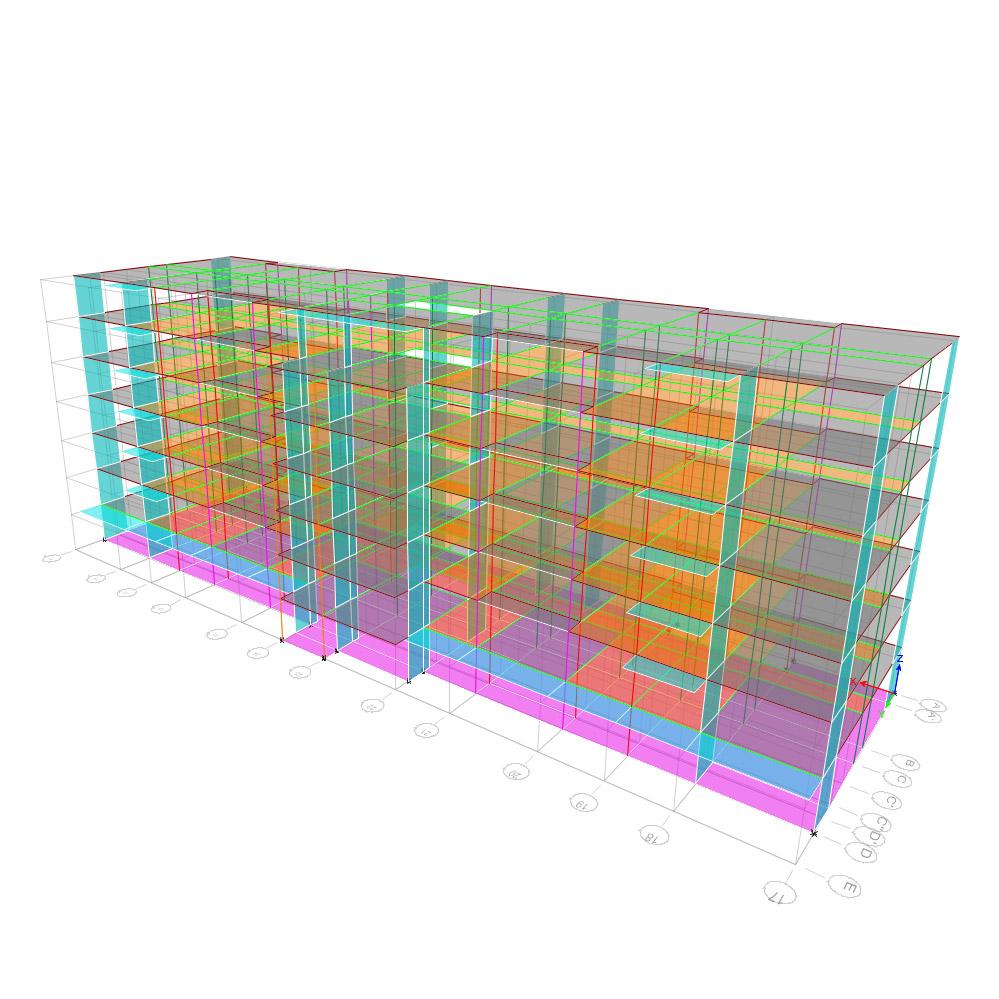 Uverturii Residence - Caracteristici materiale - Informatii tehnice - Suprastructura - 2