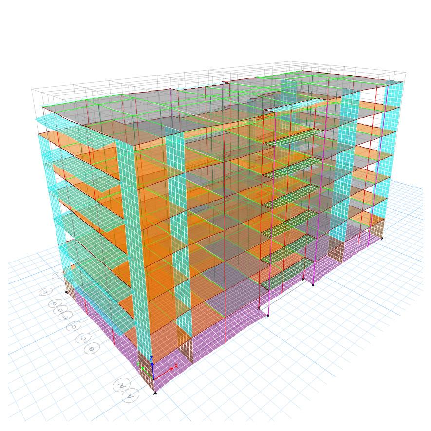 Uverturii Residence - Caracteristici materiale - Informatii tehnice - Suprastructura - 1