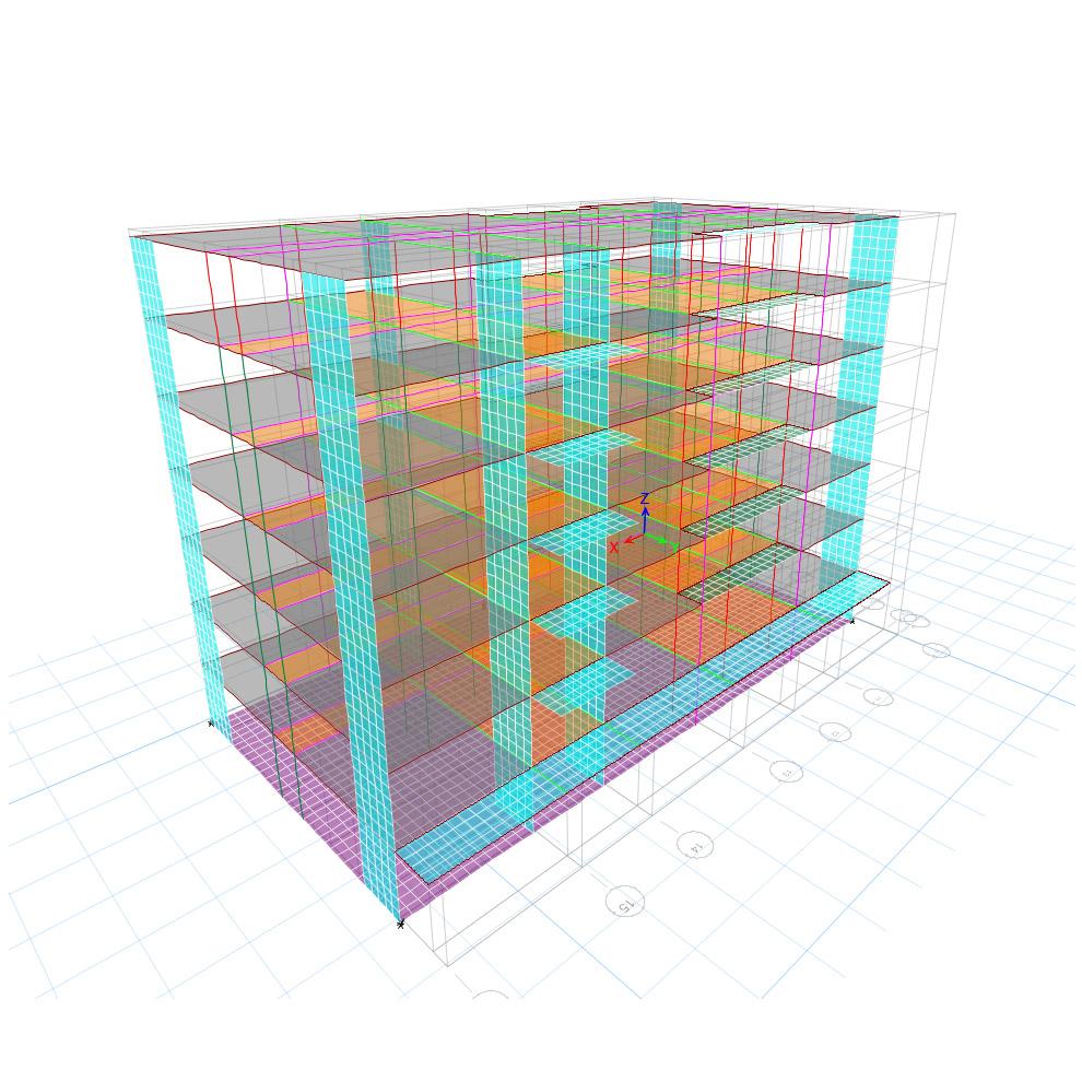 Uverturii Residence - Caracteristici materiale - Informatii tehnice - Suprastructura - 3