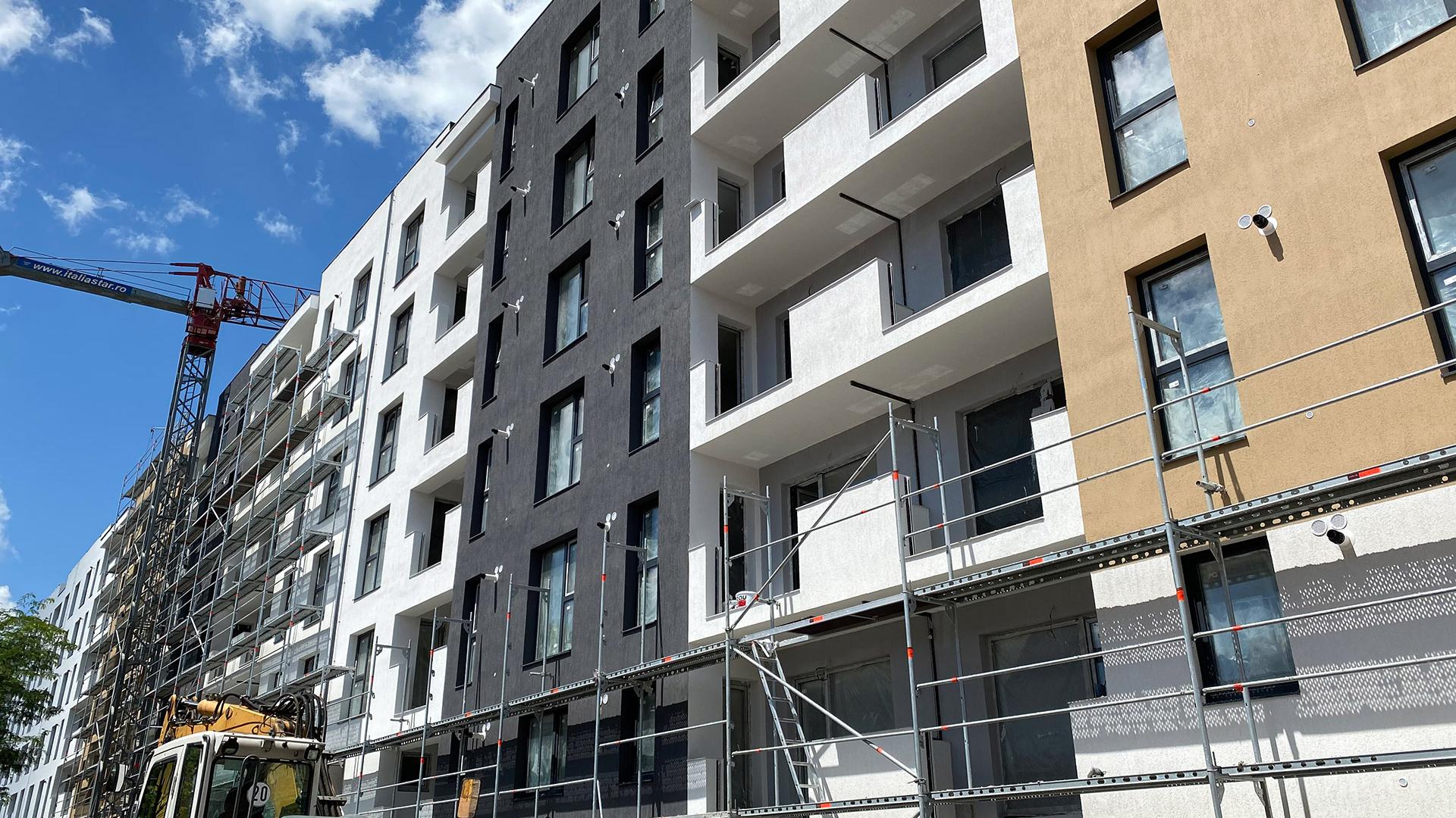 Stadiu executie Uverturii Residence 6 Iunie 2020 - Apartamente si garsoniere de vanzare Militari, Gorjului - 3