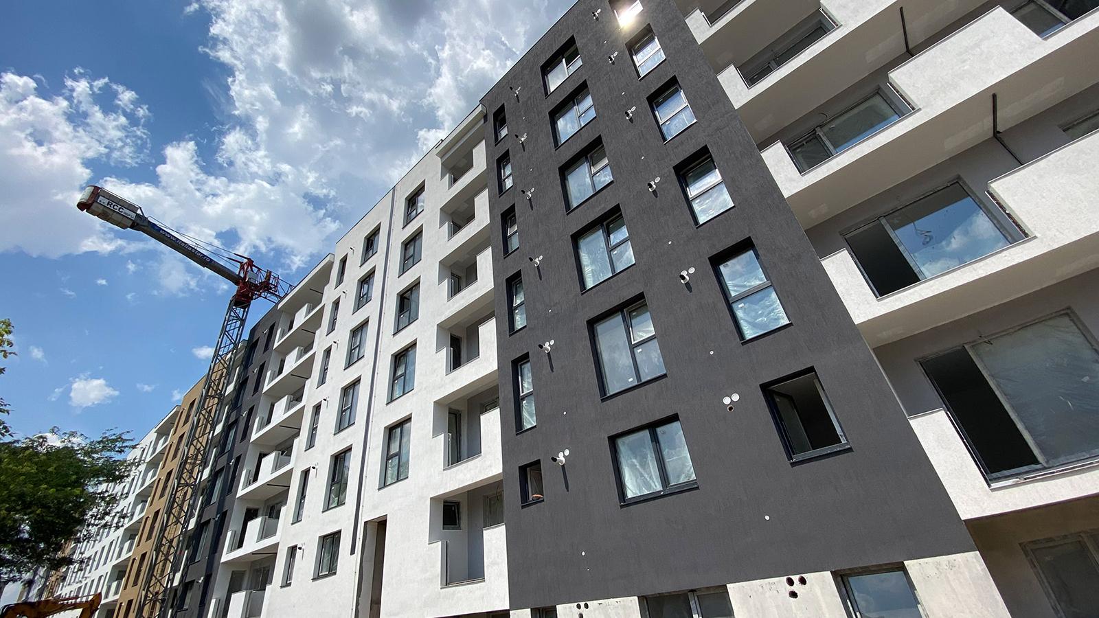 Stadiu executie Uverturii Residence 8 Iulie 2020 - Apartamente si garsoniere de vanzare Militari, Gorjului - 2